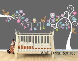 Nursery Wall Decals Monogram Wall Decals Personalized Wall Decals Animal Wall Decals Nursery Art Nursery Wall Decals Baby Girl Room Monogram Wall Decals