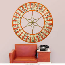 Dominoes Wheel Carnival Game Wall Decal At Retro Planet