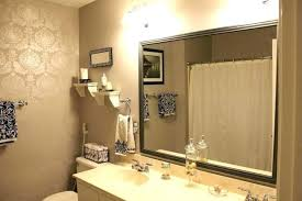 bathroom mirrors small with shelf