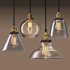 hanging glass pendant lights veser