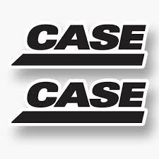 2x Case Ih Black Logo Vinyl Sticker Decal Car Truck Tractor Equipment Farm Auto Parts And Vehicles Car Truck Graphics Decals Magenta Cl