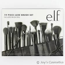 19 piece luxe brush set brush roll