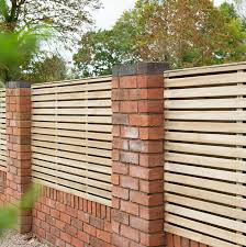 Set Of 3 6ft X 4ft Double Slatted Wooden Fence Panel Pressure Treated 244 99