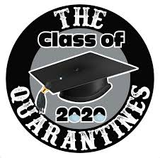 Amazon Com Class Of 2020 The Quarantines Car Window Sticker Decal Graduation Senior Gift 5 Arts Crafts Sewing