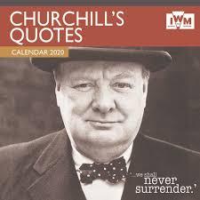 iwm churchill s quotes wall calendar month premium