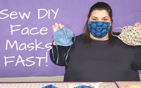 diy face mask making lots fast batch