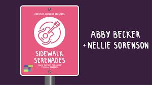 Sidewalk Serenades: Abby Becker & Nellie Sorenson | Creative Alliance