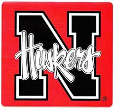 Amazon Com 3 Inch Black N Logo University Of Nebraska Huskers Nu Cornhuskers Removable Wall Decal Sticker Art Ncaa Home Room Decor 3 5 By 3 Inches Baby