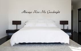 Always Kiss Me Goodnight Vinyl Wall Decal Sold By Sticker This On Storenvy