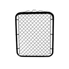 Mtb Black Coated Chain Link Fence Gate 48 Inch Overall Height By 32 Inch Frame Width Fit A 36 Inch Opening 1 Pack Walk Through Farm Gate On Galleon Philippines