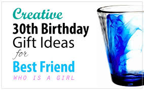 creative 30th birthday gift ideas for