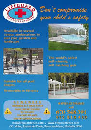 Guardian Pool Fence By Lifeguard Safety Pool Fence