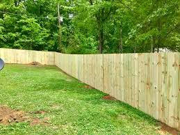 C C Fence Co 6ft Tall Wood Privacy Fence Completed In Facebook