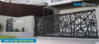 Laser Cut Gate Fence