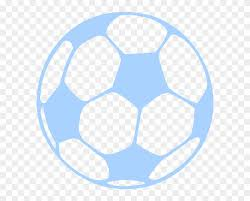 Ball Blue Clip Art At Clker Soccer Ball Car Decal Free Transparent Png Clipart Images Download