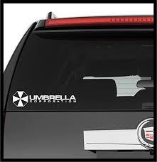 Amazon Com A Design World Decals For Cars Resident Evil Umbrella Corporation Logo Symbol Comics Vinyl Decal Truck Car Laptop Wall Sticker Home Kitchen