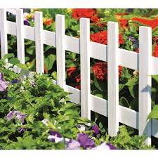 18 In X 36 In White Wood Picket Fence Lowe S Canada