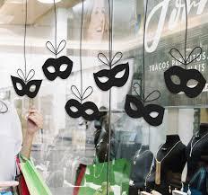 Carnival Masks Wall Sticker Tenstickers