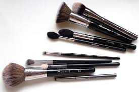 my favourite morphe brushes face made