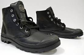 palladium boots pampa hi leather in