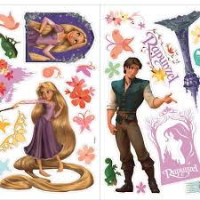 Tangled Rapunzel Peel Stick Wall Decal Peel And Stick Decals The Mural Store