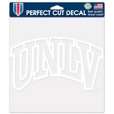 Unlv Rebels Official Ncaa 8 X Automotive Car Decal 8x8 By Wincraft 651839 Walmart Com Walmart Com