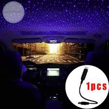 Đèn LED USB ánh sáng trắng dùng trang trí nội thất xe ô tô