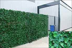 Grace Tech Artificial Ivy Hedge Fencing Indoor Outdoor Faux Leaf Privacy Fence Screen Decoration Panels 1 5m X 3m Amazon Co Uk Kitchen Home