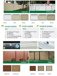 Vinyl And Aluminum Fencing Solutions J W Lumber