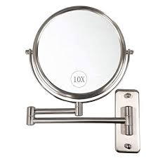 10x magnifying lighted makeup mirror