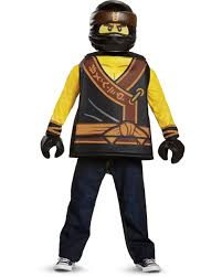 Child's Boys Classic LEGO® Ninjago Movie Black Ninja Cole Costume ...