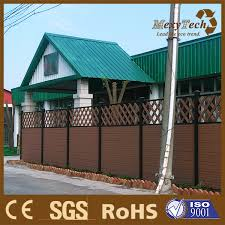 Chinese Style Composite Fencing Boards Diy Exterior Fence For Yard China Diy Exterior Fence And Yard Fence Price