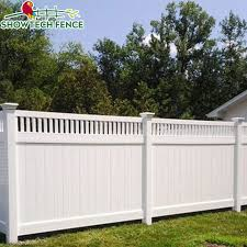 China High Standard 6 H 8 W Pvc Plastic Privacy Garden Fence Panels China Pvc Fence Pool Fence