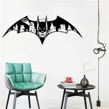 Wall Decal Vinyl Sicker Batman Dark Knight Vinyl Gotham Skyline City Kids Room Gift Home House Decoration Wallpaper Home Wall Decal Home Wall Decals From Onlinegame 10 4 Dhgate Com