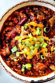 turkey chili with a secret ing