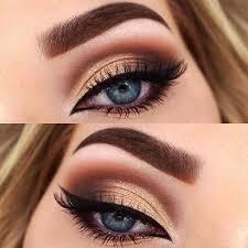 beautiful eye makeup for blue eyes