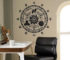 Legend Of Zelda Wall Vinyl Decal Gate Of Time By Usamadeproducts Kids Bedroom Decor Vinyl Wall Decals Housewares Design