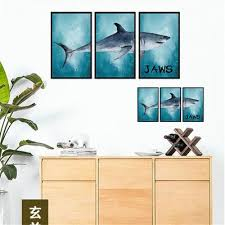 Underwater Fish Shark 3dwall Stickers Home Decor Diy Pvc Wall Paper Wall Decals Bathroom Decoration Buy At Low Prices In The Joom Online Store