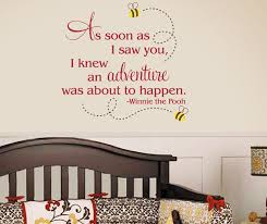 10 Sweet Winnie The Pooh Wall Decals