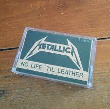 metallica no life til leather demo