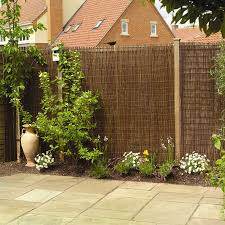 Willow Natural Fencing Screening Rolls 1 83m X 1 83m 6ft X 6ft By Papillon Privacy Fence Designs Fence Design Bamboo Screen Garden