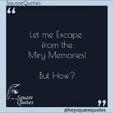 squarequotes trying to escape from broken promises from broken