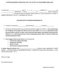 Coronavirus, restrizioni estese a tutta Italia: scarica il modulo ...