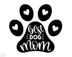 Best Dog Mom Permanent Vinyl Decal Sticker Cute Funny Car Window Mirror Ebay