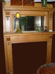 crafts vintage fireplace mantel