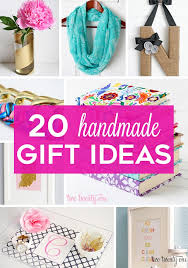 handmade gift 20 ideas for everyone