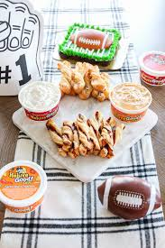 game day twists with heluva good dip