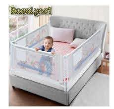 Baby Bed Fence Home Kids Playpen Safety Gate Products Child Care Barrier For Bed Ebay