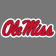 Ole Miss Rebels Ncaa Football Vinyl Sticker Car Truck Window Decal Laptop Ebay
