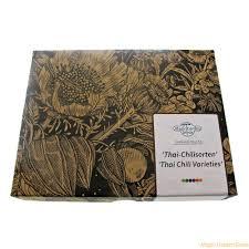 thai chilis seed kit gift box seed